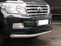 Toyota Land Cruiser 200 защита переднего бампера d 76 LCZ-000203